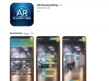 5. AR ScanAnyThing