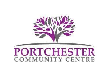 Logo design for Portchester Community Center