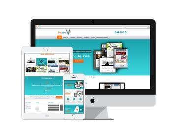 Website Design for Flip Sites