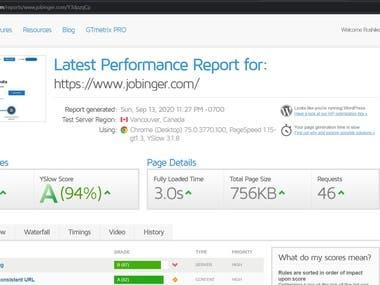 I can Optimize website your website