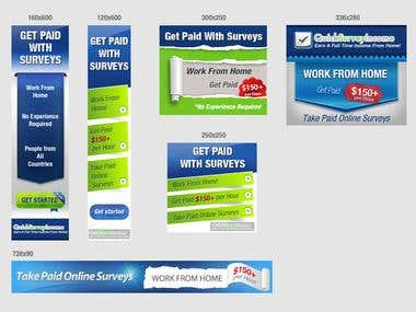 AdWords banners