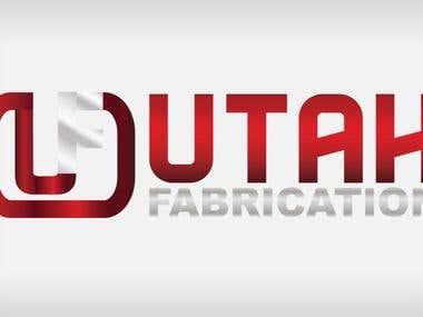 Sample logo for Utah Fabrication