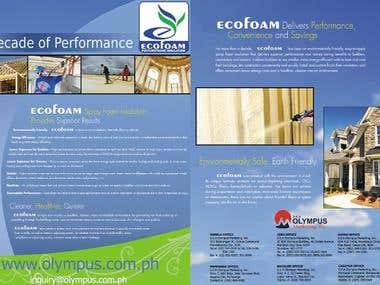 EcoFoam Flyer (2 pages back-to-back)