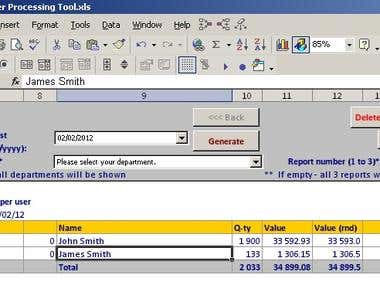 Order Processing Tool