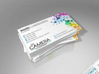 "Business Cards for ""The Camera Company"""