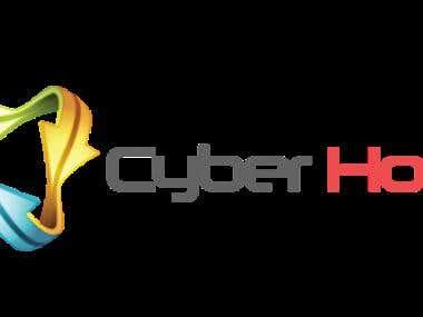 Cyber host logo