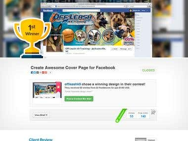 Create Awesome Cover Page for Facebook