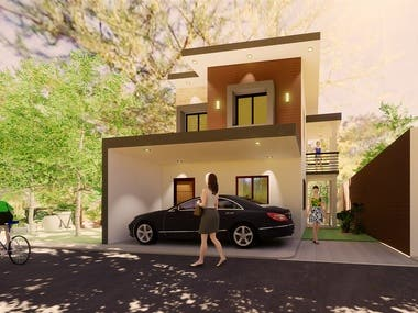 Two Storey Renovation and Extension and Interior Design