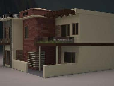 Exterior & Interior 3D Model & Rendering.