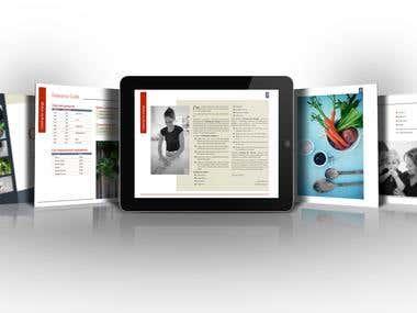 Interactive PDF brochures