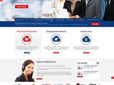 Cloud 365 Website Design