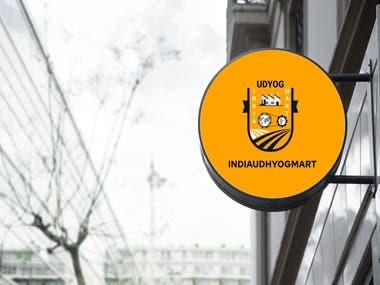 INDIAUDYOGMART : Logo designing