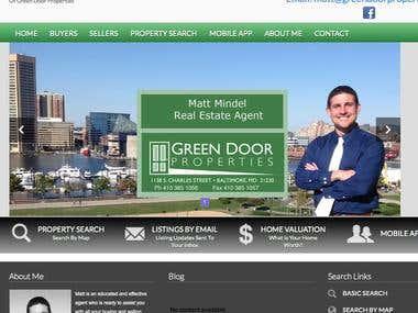 Matt Mindel Real Estate Website