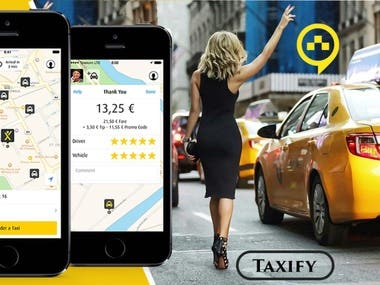 Mobile Taxi Booking Application