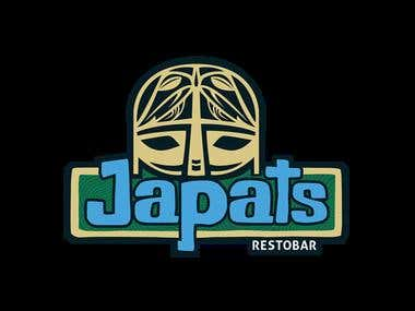 Japats Restobar - Logo Design