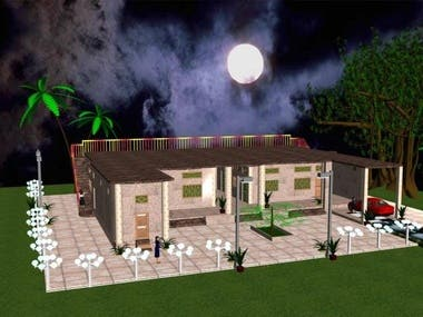 Architectural Design of building