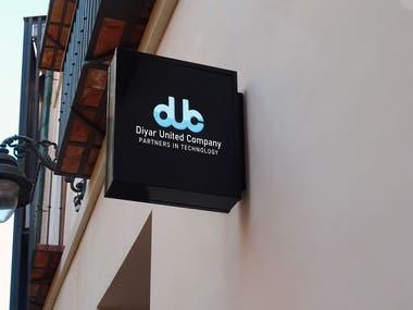 Diyar United Company :- Logo Design