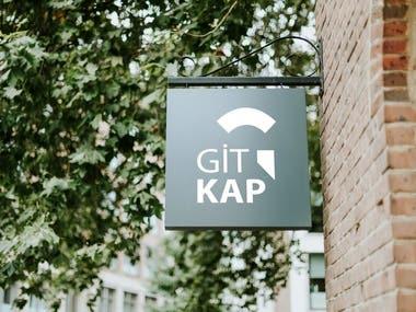 GITKAP (Restaurant App) : Logo Designing