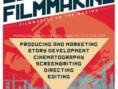 Guerilla Filmmaking 2013 Poster