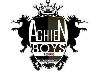 AGHIENBOYS RECORDS LOGO