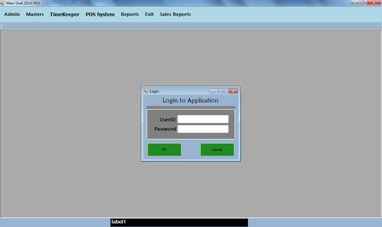 POS Desktop Application | Freelancer