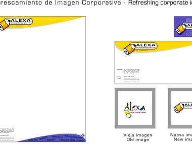 REFRESCAMIENTO MAGEN CORPORATIVA - CORPORATE IDENTITY IMAGE