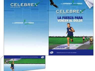Folder y Block de notas para Laboratorios Pfizer Venezuela