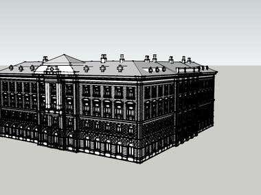 historic house with a rich façade design