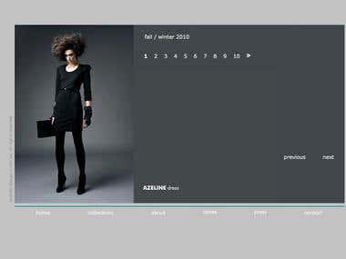 Web design and Fashion Art Direction