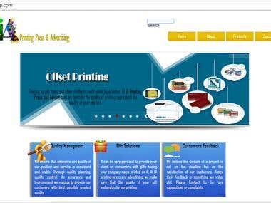 Website- Custom Wordpress Theme (From Scratch)