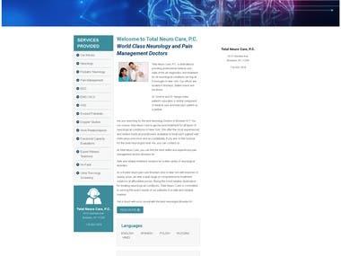 Search Engine Optimization + Web Development