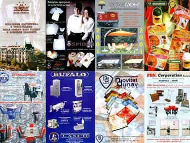 A4 Magazine advertising/commercials