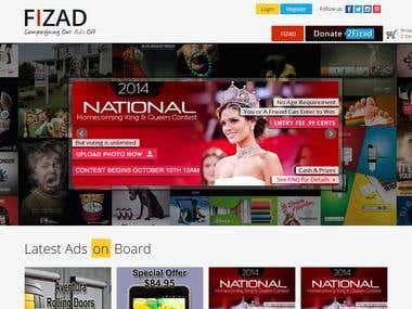 CodeIgniter based Ad Campaign Site [fizad.com]