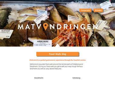 Design and wordpress- matvandringen