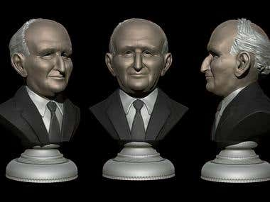 Bust for 3d print