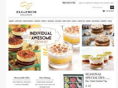 Magento based eCommerce website [www.elifrum.com]