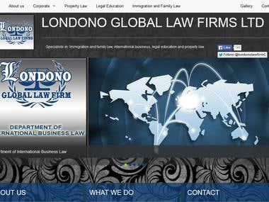 Maria Londono Global Law Firms LTD website