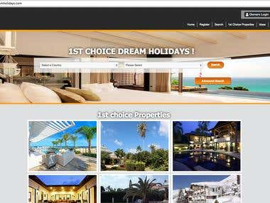 1stchoicedreamholidays.com(WP holiday booking website)