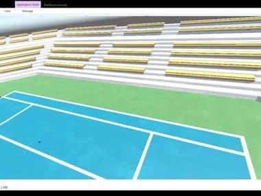 Tennis ball tracking using ML & DIP