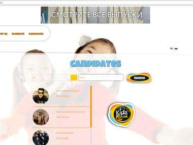 www.kidsru.us (Voting Responsive website)