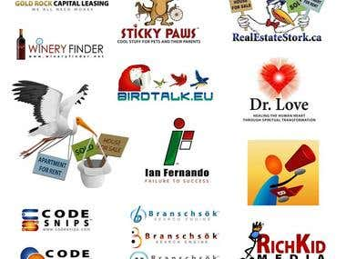 Various Logo Design works