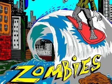 Tsumani Zombies