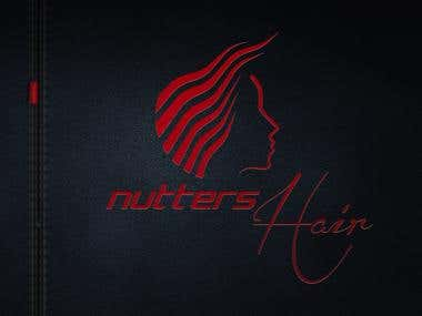 Nutters Hair logo 3