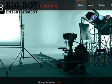 Film Production house web site