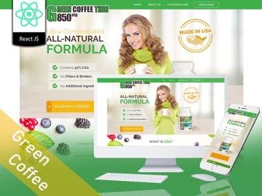 Green coffee thin
