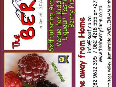 Adv Flyer for Berry Farm