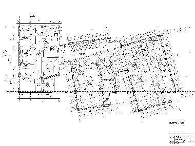 Residential building floorplan and structural calculations