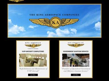 King Aerospace PHP Site