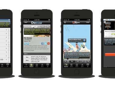 Deal Finder Application (MeNetwork)