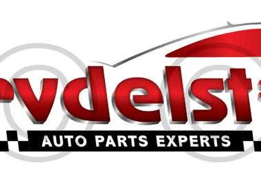 Auto parts and spares logo